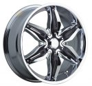 chrome rims, custom rims RISSA