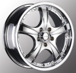 chrome rims, custom rims N-31