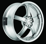 chrome rims, custom rims N-32