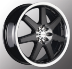 chrome rims, custom rims N-35
