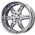 chrome rims, custom rims 752