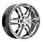 chrome rims, custom rims BLADE TYPE 381