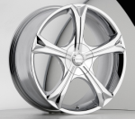 chrome rims, custom rims Pantina Type 347