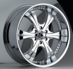 chrome rims, custom rims REWIND TYPE 414