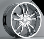 chrome rims, custom rims Snap Type 325