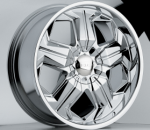 chrome rims, custom rims Unknow Type 534