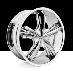 chrome rims, custom rims 540 Xexx