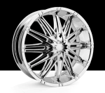 chrome rims, custom rims 585 Dejavu