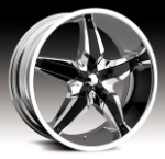 chrome rims, custom rims F16 Type 530