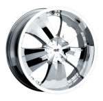 chrome rims, custom rims Type 527