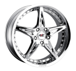 chrome rims, custom rims Type 535