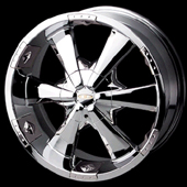 chrome rims, custom rims Allure 2120