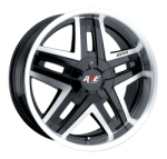 This is a beautiful wheel. When you wake up in the morning you will love to see this wheel on your vehicle. This wheel has 5 spokes this wheel will chop the streets hard.