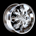 This is a beautiful wheel. When you wake up in the morning you will love to see this wheel on your vehicle. This wheel has a deep lip with 7 spokes this wheel will chop the streets hard.