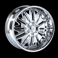 This is a beautiful wheel. When you wake up in the morning you will love to see this wheel on your vehicle. This wheel has a deep lip with the rivets to accent the wheel and with the full face this wheel will chop the streets hard.