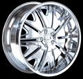 This is a beautiful wheel. When you wake up in the morning you will love to see this wheel on your vehicle. This wheel has a deep lip with the full face this wheel will chop the streets hard.