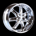 This is a beautiful wheel. When you wake up in the morning you will love to see this wheel on your vehicle. This wheel has a deep lip 6 spokes this wheel will chop the streets hard.