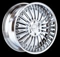This is a beautiful wheel. When you wake up in the morning you will love to see this wheel on your vehicle. This wheel has a deep lip with a full face this wheel will chop the streets hard.