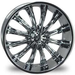 "This is the magnificent ""BENTCHI B15"" rim, it has a CHROME finish, a remarkable rim, has a good elegant look to it, and a very smooth ride to it, Has a mid lip for those looking for a lil lip but not too much ""JUST ENOUGH"". Very dependable rim, does not rust or mold at all like all those other flimsy rims. One of the best wheels you can have under your vehicle, to make it look beautiful and also have that fancy look."