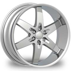 "This is the magnificent ""BENTCHI B12S"" rim, it has a CHROME finish, a remarkable rim, has a good elegant look to it, and a very smooth ride to it, Has a mid lip for those looking for a lil lip but not too much ""JUST ENOUGH"". Very dependable rim, does not rust or mold at all like all those other flimsy rims. One of the best wheels you can have under your vehicle, to make it look beautiful and also have that vibrant look."