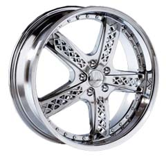 "This is the magnificent ""BENTCHI B2B"" rim, it has a CHROME finish, a remarkable rim, has a good cutting edge look to it, and a very smooth ride to it, Has a mid lip for those looking for a lil lip but not too much ""JUST ENOUGH"". Very dependable rim, does not rust or mold at all like all those other flimsy rims. One of the best wheels you can have under your vehicle, to make it look beautiful and also have that fancy look."