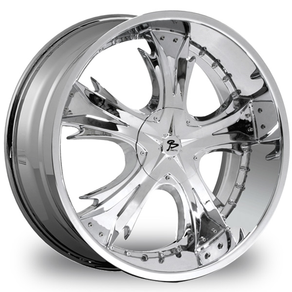 "This is the magnificent ""BONETTI 81"" rim, it has a CHROME finish, a remarkable rim, has a good elegant look to it, and a very smooth ride to it, Has a mid lip for those looking for a lil lip but not too much ""JUST ENOUGH"". Very dependable rim, does not rust or mold at all like all those other flimsy rims. One of the best wheels you can have under your vehicle, to make it look beautiful and also have that fancy look."