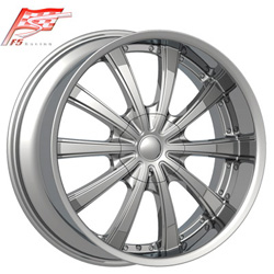 "This is the cutting edge ""F5 105"" rim, it has a CHROME finish, a remarkable rim, has a good cutting edge look to it, and a very smooth ride to it, Has s deep lip for those looking for a rim with more lip, and  ""LESS RIM"". Very dependable rim, does not rust or mold at all like all those other flimsy rims. One of the best wheels you can have under your vehicle, to make it look beautiful and also has the confident look to it."