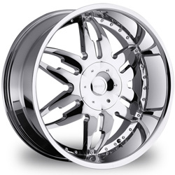 "This is the one-of-a-kind ""GITANGO GT-51"" rim, it has a CHROME finish, a very outstanding rim, has a good unique look to it, and a very smooth ride to it, Has deep lip for those looking for a lil more  lip then rip. Very dependable rim, does not rust or mold at all like all those other flimsy rims. One of the best wheels you can have under your vehicle, to make it look beautiful and also has the cutting edge look to it"