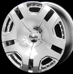 This wheel is fabulous, made for almost any make and model vehicle. The full face 5 dual spoke wheel adds a lot of style to the look of your vehicle. When you ride the street you will turn heads with this wheel.