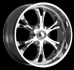 This wheel is fabulous, made for almost any make and model vehicle. The 6 spoke wheel adds a lot of style to the look of your vehicle. When you ride the street you will turn heads with this wheel.