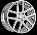 This is a beautiful wheel. When you wake up in the morning you will love to see this wheel on your vehicle. This wheel has a  no lip with the rivets to accent the wheel and with the 5 dual spokes this wheel will chop the streets hard.