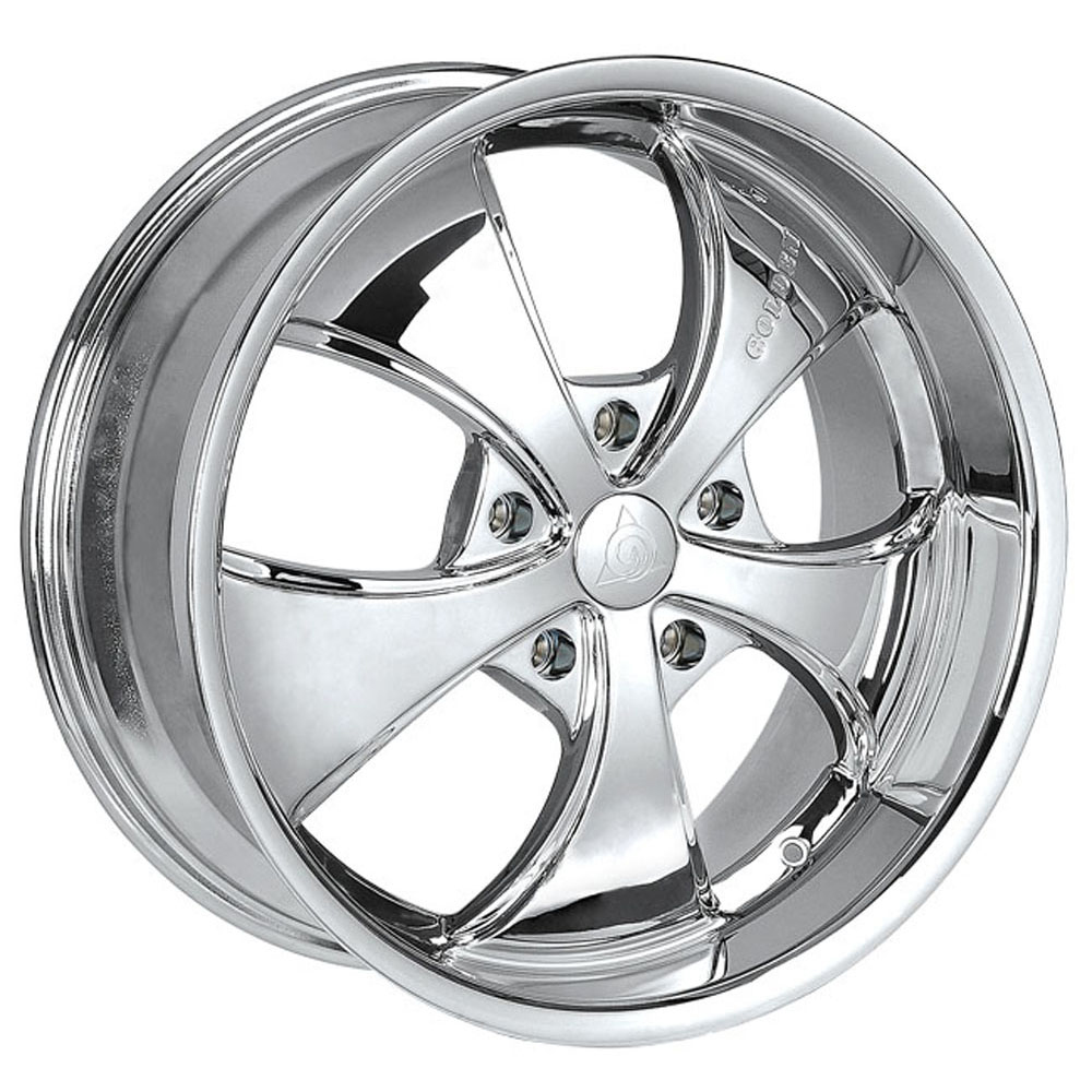 This is a beautiful wheel. When you wake up in the morning you will love to see this wheel on your vehicle. This wheel has a deep lip with the 5 spokes and exposed lugs this wheel will chop the streets hard.