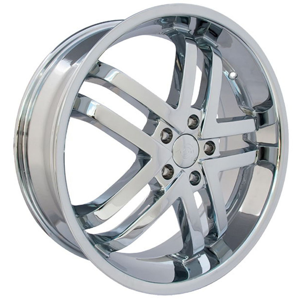 This is a beautiful wheel. When you wake up in the morning you will love to see this wheel on your vehicle. This wheel has a mid lip with the 5 dual spokes and exposed lugs this wheel will chop the streets hard.
