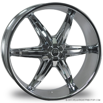 "This is the vibrant ""PHINO 18"" rim, it has a CHROME finish, a very outstanding rim, has a good smooth look to it, and a very righteous ride to it, Has mid lip for those looking for a rim with lil lip but enough rim on it ""JUST ENOUGH"". Very dependable rim, does not rust or mold at all like all those other flimsy rims. One of the best wheels you can have under your vehicle, to make it look beautiful and also has the cutting edge look to it."