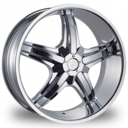 "This is the mind-blowing ""PHINO 18A"" rim, it has a CHROME finish, a very outstanding rim, has a good smooth look to it, and a very righteous ride to it, Has mid lip for those looking for a rim with lil lip but enough rim on it ""JUST ENOUGH"". Very dependable rim, does not rust or mold at all like all those other flimsy rims. One of the best wheels you can have under your vehicle, to make it look beautiful and also has the powerful look to it."