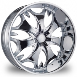 "This is the mind-blowing ""PHINO 68"" rim, it has a CHROME finish, a very outstanding rim, has a good smooth look to it, and a very righteous ride to it, Has mid lip for those looking for a rim with lil lip but enough rim on it ""JUST ENOUGH"". Very dependable rim, does not rust or mold at all like all those other flimsy rims. One of the best wheels you can have under your vehicle, to make it look beautiful and also has the one of a kind look to it."