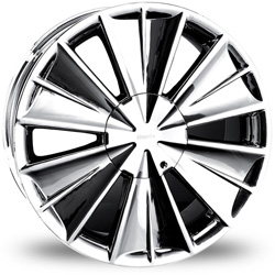 "This is the eye-catching ""PINANCLE ARMAGEDDEN"" rim, it has a CHROME finish, a very outstanding rim, has a good smooth look to it, and a very righteous ride to it, Has no lip for those looking for a rim with no lip but enough rim on it ""JUST ENOUGH"". Very dependable rim, does not rust or mold at all like all those other flimsy rims. One of the best wheels you can have under your vehicle, to make it look beautiful and also has the powerful look to it."