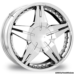 "This is the cutting edge ""PINNANCLE EXTREYA"" rim, it has a CHROME finish , a very outstanding rim, has a good smooth look to it, and a very righteous ride to it, Has no lip for those looking for a rim with no lip but more RIM.Very dependable rim, does not rust or mold at all like all those other flimsy rims. One of the best wheels you can have under your vehicle, to make it look beautiful and also has the powerful look to it."