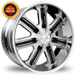 "This is the eye-catching ""PINANCLE LEX"" rim, it has a CHROME/W BLACK finish, a very outstanding rim, has a good smooth look to it, and a very righteous ride to it, Has mid lip for those looking for a rim with lil lip but enough rim on it ""JUST ENOUGH"". Very dependable rim, does not rust or mold at all like all those other flimsy rims. One of the best wheels you can have under your vehicle, to make it look beautiful and also has the powerful look to it."