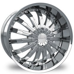 "This is the mind blowing ""PINANCLE SWAGG"" rim, it has a CHROME finish, a very outstanding rim, has a good smooth look to it, and a very righteous ride to it, Has mid lip for those looking for a rim with lil lip but enough rim on it ""JUST ENOUGH"". Very dependable rim, does not rust or mold at all like all those other flimsy rims. One of the best wheels you can have under your vehicle, to make it look beautiful and also has the powerful look to it."