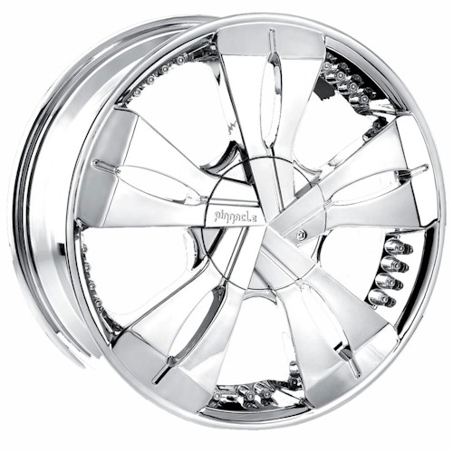 Pinnacle Elusive rims are available in three sizes: 17x7.5, 18x7.5 and 20x8.5. Chrome rims high quality