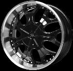 This wheel is fabulous, made for almost any make and model vehicle. The 7 dual spoke wheel adds a lot of style to the look of your vehicle. When you ride the street you will turn heads with this wheel.