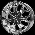This wheel is fabulous, made for almost any make and model vehicle. The 7 dual spokes wheel adds a lot of style to the look of your vehicle. When you ride the street you will turn heads with this wheel.
