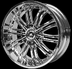 This wheel is fabulous, made for almost any make and model vehicle. The 10 dual spokes wheel adds a lot of style to the look of your vehicle. When you ride the street you will turn heads with this wheel.