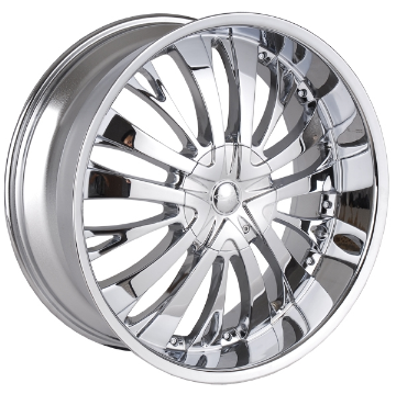 This wheel is fabulous, made for almost any make and model vehicle. The 15 spoke wheel adds a lot of style to the look of your vehicle. When you ride the street you will turn heads with this wheel.
