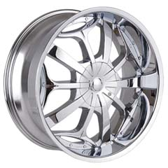 "This is the one of a kind ""TYFUN 701"" rim, it has a CHROME finish , a very outstanding rim, has a good smooth look to it, and a very righteous ride to it, Has mid lip for those looking for a rim with a lil lip but enough lip and enough rim. Very dependable rim, does not rust or mold at all like all those other flimsy rims. One of the best wheels you can have under your vehicle, to make it look beautiful and also has the CONFIDENT look to it."