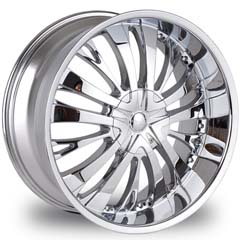 "This is the cutting edge ""TYFUN 705s"" rim, it has a CHROME finish , a very outstanding rim, has a good smooth look to it, and a very righteous ride to it, Has mid lip for those looking for a rim with a lil lip but enough lip and enough rim. Very dependable rim, does not rust or mold at all like all those other flimsy rims. One of the best wheels you can have under your vehicle, to make it look beautiful and also has the CONFIDENT look to it."