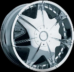 This wheel is fabulous, made for almost any make and model vehicle. The 7 spoke and full faced wheel adds a lot of style to the look of your vehicle. When you ride the street you will turn heads with this wheel.