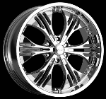 This wheel is fabulous, made for almost any make and model vehicle. The 6 dual spokes wheel adds a lot of style to the look of your vehicle. When you ride the street you will turn heads with this wheel.