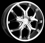 This wheel is fabulous, made for almost any make and model vehicle. The5 dual spoke wheel adds a lot of style to the look of your vehicle. When you ride the street you will turn heads with this wheel.